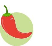 Packed Green Pepper